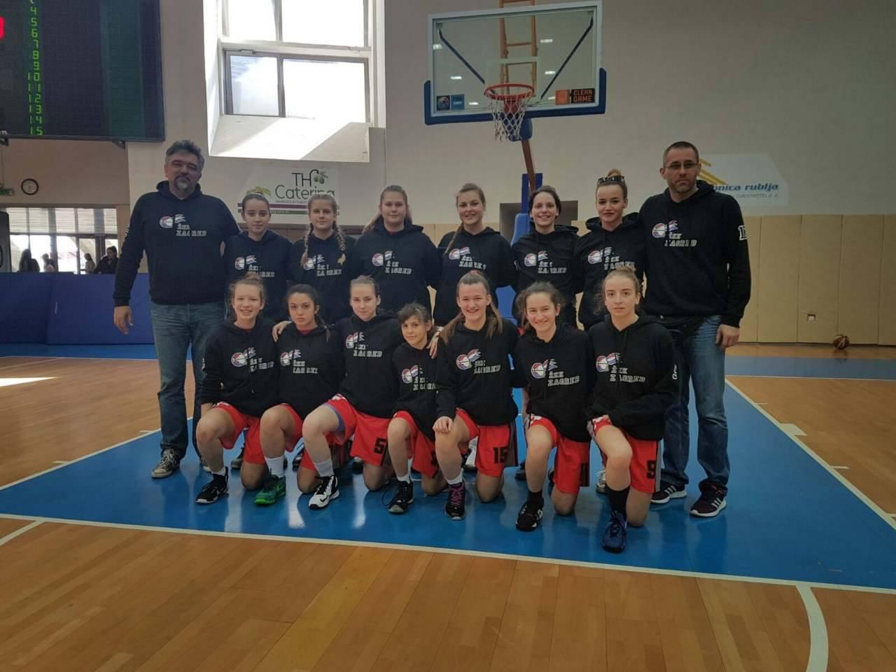 U završnici kadetkinjaTrešnjevka 2009 – Zagreb i Zadar – Vodice